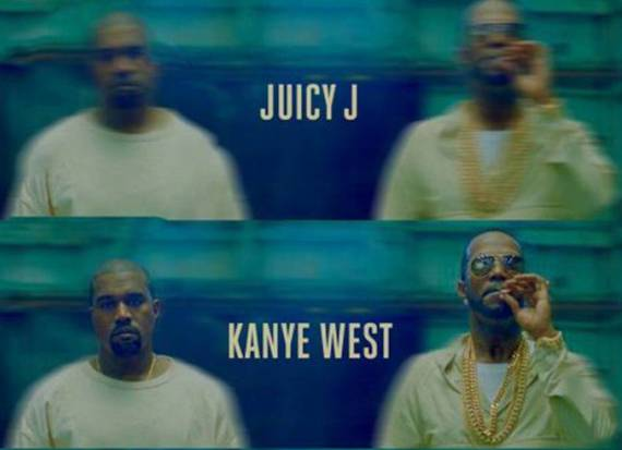 Juicy J and Kanye-West, Ballin, Coverart